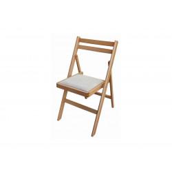 Сгъваем тапициран стол Ангел бук