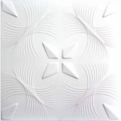 Декоративни плочи за таван C2046 2кв.м./пакет бели