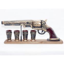 Комплект за алкохол Револвер с поставка УК-287