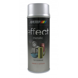 Боя-спрей на нитро-целулозна основа Motip сребърен ефект брилянт, 400ml