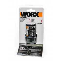 Батерия Worx WA3505 за акумулаторна бормашина WX128 / Li-ion 2.0Ah 12V