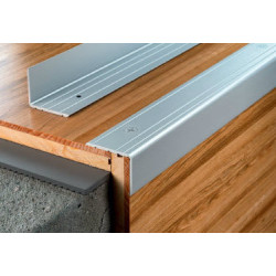 Г-образна алуминиева лайсна 25х20мм/91см дъб натурал S02