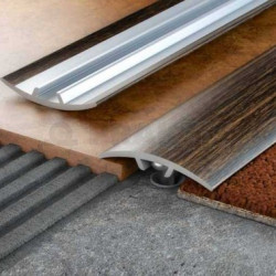 Преходна алуминиева лайсна 30мм/91см дъб натурал S10