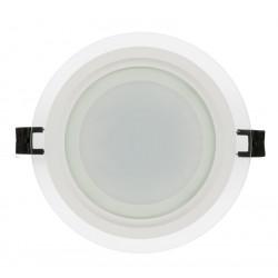 LED стъклен панел кръг 18W
