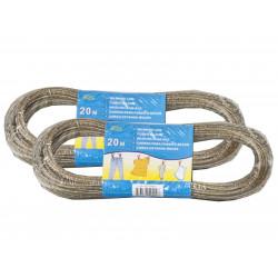 Въже за простиране с метална нишка 15м