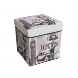 Табуретка кутия Лондон