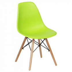 Трапезен стол 9957 ярко зелен