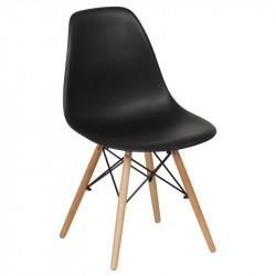 Трапезен стол 9957 черен