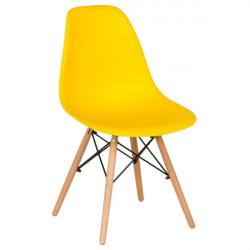Трапезен стол 9957 жълт