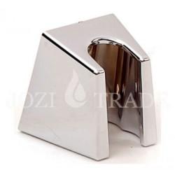 Закачалка за душче пластмасова / обикновена / хром