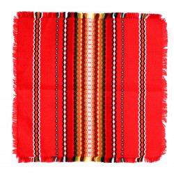 Битово каре 80x80 червено