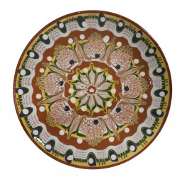 Чиния троянска керамика 23cm