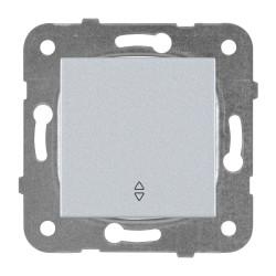 Девиаторен ключ мех+капак сив Panasonic Каре Плюс