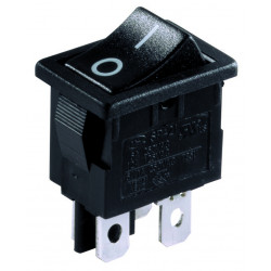 Електрически ключ / прекъсвач 12A черен