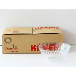 Стъклени купи Диана 6 бр.