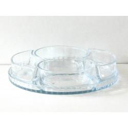 Стъклена чиния ВМ1147 4+1 бр.