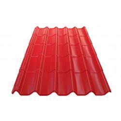 Метален покрив Eco 0.4mm / 1.44m керемиден цвят