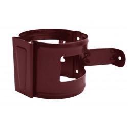 Скоба за водосточна тръба D 90mm / кафява