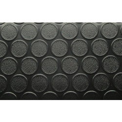 ПВЦ настилка за гаражи PMR134 черен цвят