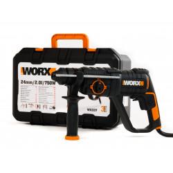 Перфоратор WORX WX337 / 750W / 2J