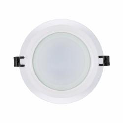 LED стъклен панел - кръг 12W 4200K