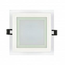 LED стъклен панел - квадрат 6W 4200K