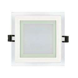 LED стъклен панел - квадрат / 12W