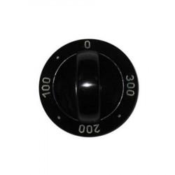 Електрически ключ за печка тип врътка / градуси / черен