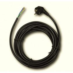Захранващ гумиран кабел 3X1.5 / 5 m / черен