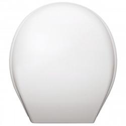 Тоалетна седалка Лилия с раздвижен шарнир / бяла