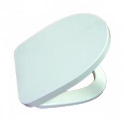 Тоалетна седалка Ирис с раздвижен шарнир / бяла