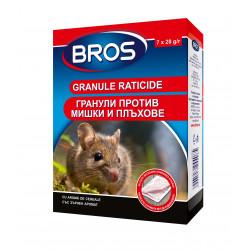 Отрова гранули против мишки и плъхове BROS 140 гр