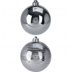 Коледна топка 100 мм / сребро ACP200010