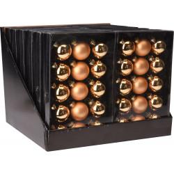 Коледни топки 15x45мм / злато ABR500600
