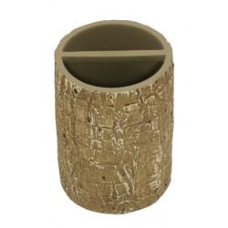 Стояща чашка за четки за зъби с разделение Естел