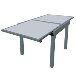 Разтегателна алуминиева маса 180х90