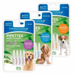 Противопаразитни пипети за кучета едри породи Francodex / 4 броя