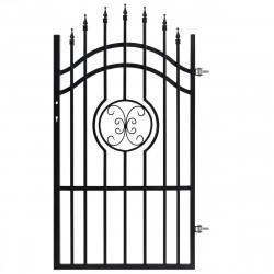 Оградна врата Царевец дясна