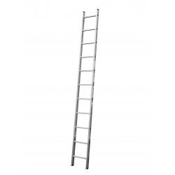 Алуминиева сертифицирана стълба NV 121 / 1x11 стъпала / 150 кг
