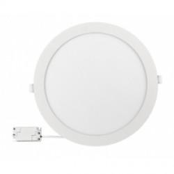 LED панел за вграждане / кръг 24W неутрална светлина