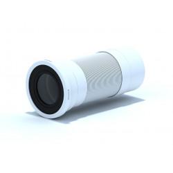 Разтегаема гофрирана връзка за тоалетна D110mm 295-750mm