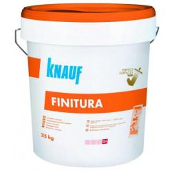 Суперфина готова шпакловка за перфектна повърхност Knauf Finitura 20кг