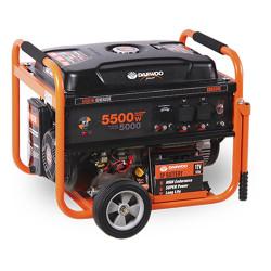 Бензинов монофазен генератор Daewoo GD6500E / 5000W