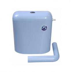 Пластмасово тоалетно казанче Класик Никипласт / синьо