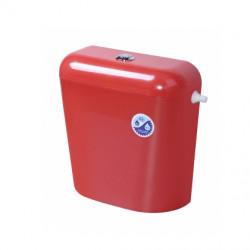 Пластмасово тоалетно казанче Класик Никипласт / червено