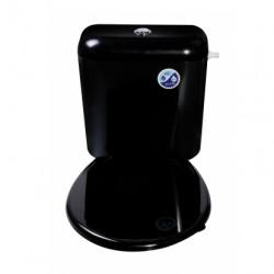 Тоалетна седалка за чиния Магнолия / черна
