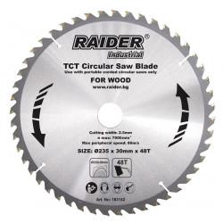 Диск за циркуляр Raider Industrial RDI-CS27 235х48Тх30mm