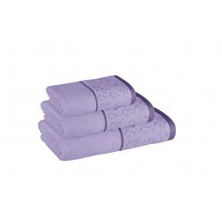 Хавлиена кърпа за баня Верона 30/50 лилава