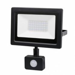 LED Slim прожектор с датчик за движение 30W