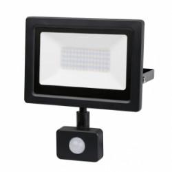 LED Slim прожектор с датчик за движение 50W